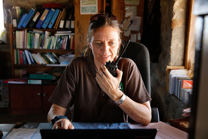 Claire Lewis, North Luangwa Conservation Programme