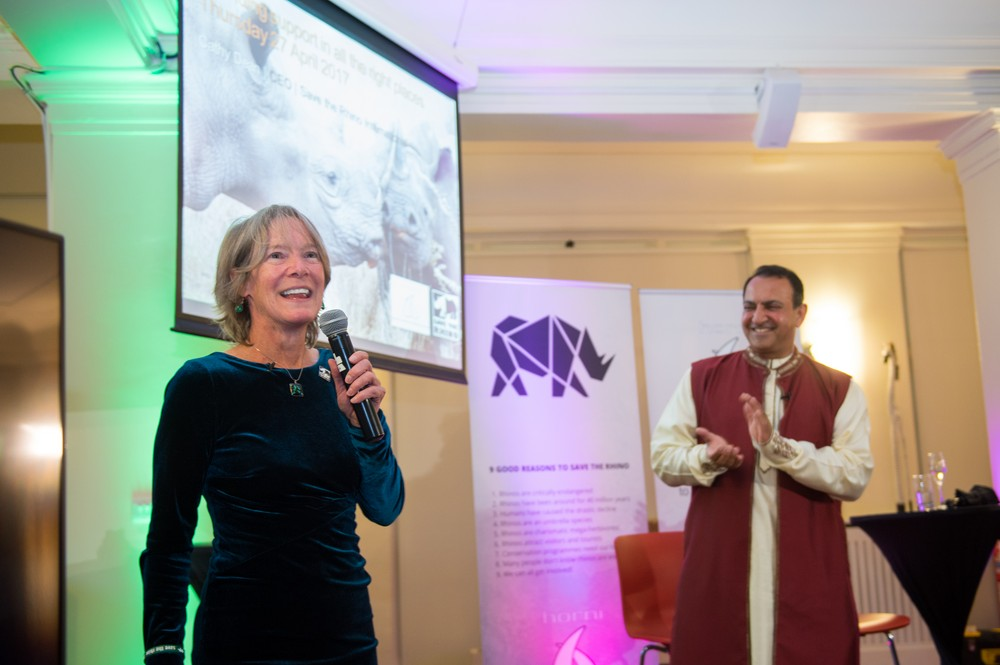 Image of our corporate partner horni underwear at their launch party in London