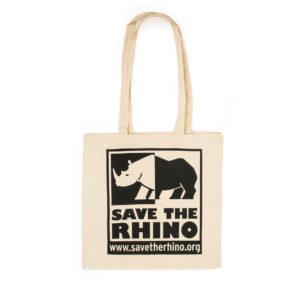 Save the Rhino Cotton Tote Bag