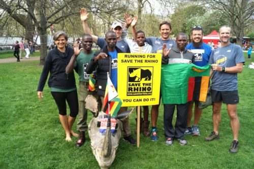 Ranger team at the London Marathon