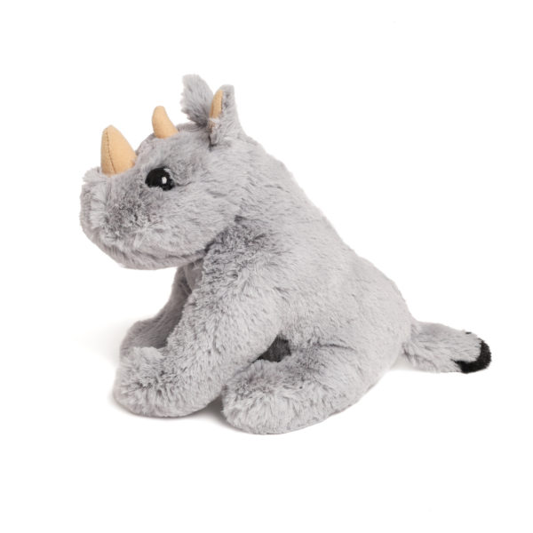 Medium Rhino Soft Toy Side