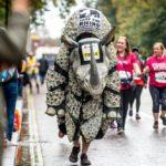 Rhino costume runner