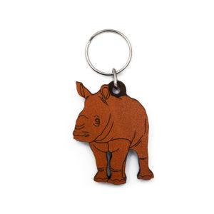 Rhino Calf Keyring