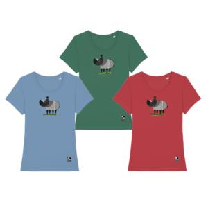 All Savannah Rhino T-shirts Women's