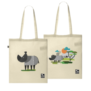 Both Savannah tote bags