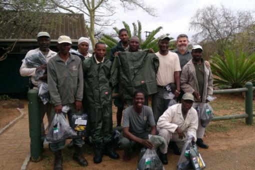 Rangers at uMkhuze