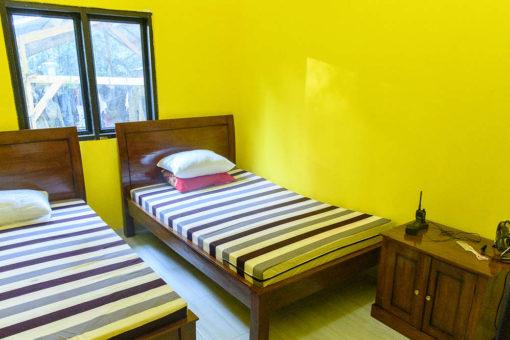 New dorm rooms, Sumatran Rhino Sanctuary