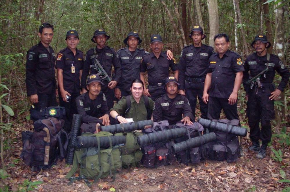 Rhino Protection Unit, Indonesia
