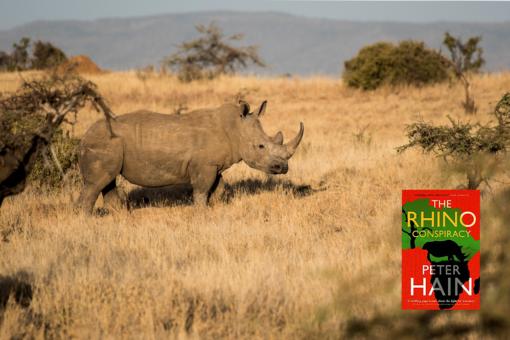 White rhino. The Rhino Conspiracy book.