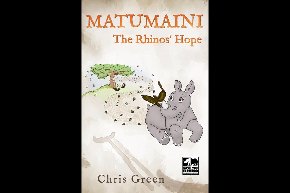 Matumaini, the rhino's hope front cover