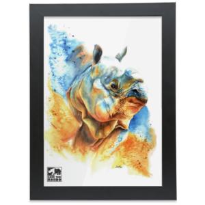 Jaya A4 Framed Print