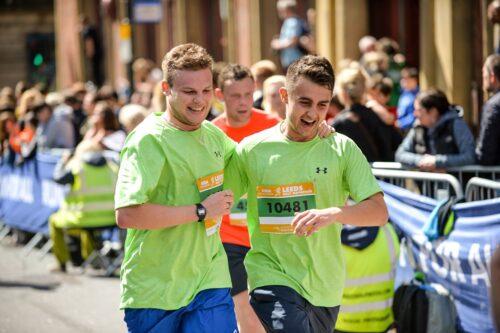 Runners at the Leeds Half Marathon