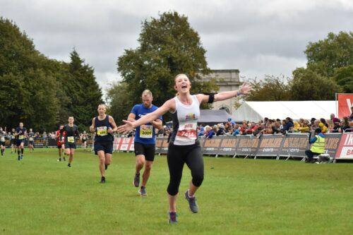 Runners at the Robin Hood Half marathon