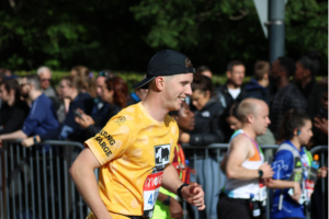 Callum Thompson running